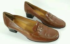 """Van Dal womens brown leather low heel shoes uk 4D """" Dundee"""""""