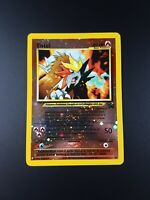 Entei 34 Rare Holo Black Star Promo Pokemon Card - Good Condition