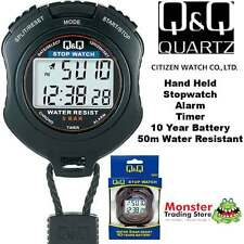 AUSSIE SELER CITIZEN MADE PRO HAND HELD STOP WATCH HS47J001 RP$119.9 WARANTY
