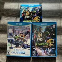 Star Fox Zero + Star Fox Guard (Nintendo Wii U, 2016) New Factory Sealed CIB