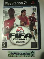 FIFA FOOTBALL 2005 PS2 PLAYSTATION 2 SONY EN BOITE PAL