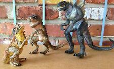 3 ( Three ) Life Stages of Zilla - Gadzooks Godzilla!