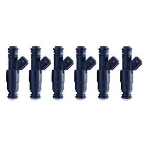 6PCS 650cc Turbo Fuel Injector fit for BMW M3 M5 X5 Z3 Audi S4 A6 GMC Jeep VW V6