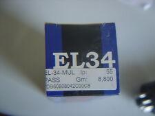 1 x EL34 MULLARD Röhren Valve Valvole Tubes  Jahr 2004  NEU