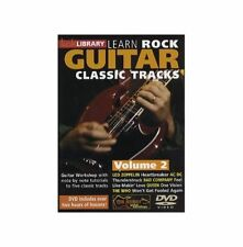 Learn Rock Guitar Classic Tracks Volume 2 DVD