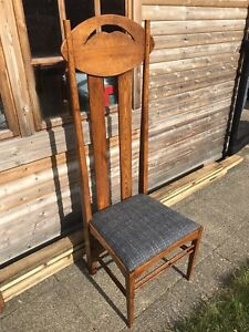 Charles Rennie Mackintosh Argyle Chair.  Blade Runner / Addams Family