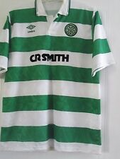 """Celtic 1989-1991 Home Football Shirt Size 42"""" chest  (41549)"""
