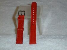 NWOT Invicta Patent Leather Leather Watch Band (Red)