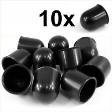 Barra de bola de remolque 10x 50 mm Negro Tapa Remolque Coche Van Trailer towball Protección