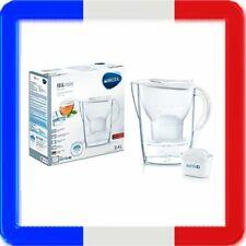 Brita Marella White Carafe Filtrante avec Maxtra + 2,4 Litres Blanc Eau Potable