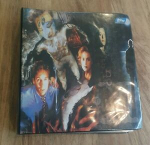 X files trading cards - Topps - Binder around 486 Cards   - 1995 - collectable