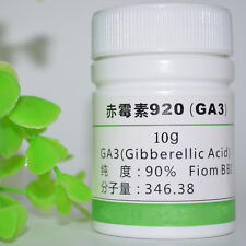 10g-Gibberellic  Acid GA3=99% Pure W/Instructions BR Biological Grade