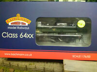 Bachmann ref 31-638 64XX 6419 BR Lined Green Late Crest weathered BNIB