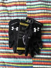 Under Armour Womens Lacrosse Gloves Size Medium M Black New