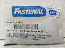 FASTENAL S/S SOCKET HEAD CAP SCREWS MS2540012A20000 NEW(OTHER)