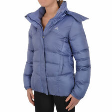 adidas Performance Womens Down Quilted Coat Padded Hooded Jacket