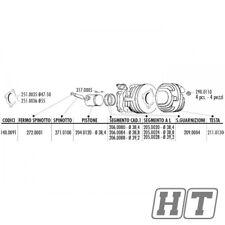 Kolbenring Polini 38,4x1,5mm (unten) für Vespa PK 50 Special 50 XL 50