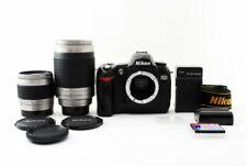 Nikon D70 6.1MP 28 80/70 300mm Lente Set [ EXC Con / Tarjeta Cf ,Tira Japón [