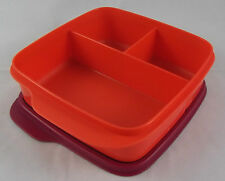 Tupperware Clevere Pause Rot / Weinrot 550 ml Lunchbox Box Dose Büchse Neu