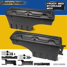 Left & Right Rear Truck Bed Storage Box Toolbox For Ford F150 F-150 2015-2019
