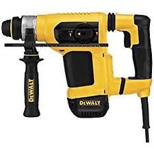 "Dewalt D25413K 1-1/8"" Sds Rotary Hammer Kit with Shocks and Active Vibration"