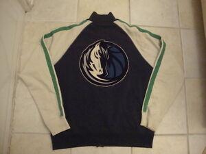 NBA Dallas Mavericks Banner Supply Sweatshirt Zip Up Jacket XL