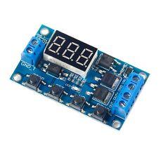 12V-24V Pulse Signal Cycle Delay Timer Switch FET MOS Control 0.1Sec~999Min DE