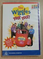 The Wiggles Toot Toot DVD Region 4 PAL ABC For Kids