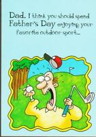 FATHER'S DAY Greeting Card, FUNNY CARD