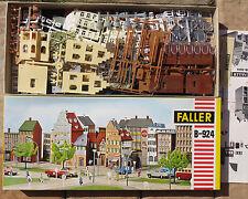 Faller AMS -- B-924 Altstadthäuser, 60er Jahre Neu OVP Sammlerstück TOP