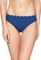 La Blanca Women's 189796 Scallop Edge Hipster Bikini Bottom Swimwear Size 10