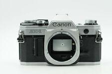 Canon AE-1 SLR Film Camera Body Chrome AE1                                  #059