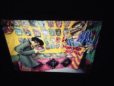 "Red Grooms ""42nd Street: Porno Bookstore"" 35mm Slide Pop Art"