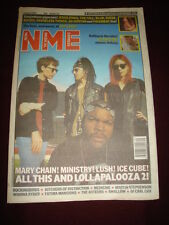 NME 1992 AUG 1 LOLLAPALOOZA JULIAN COPE JESUS JONES BLUR SUEDE SILVERFISH