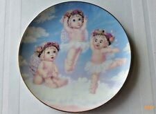 Vintage Hamilton Dreamsicles Plate Collection Heavenly Pirouettes Kristin 6.5 in