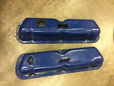 SMALL BLOCK  FORD 302, 351W VALVE COVERS - OEM STEEL