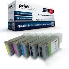 5x Printer Cartuchos de tinta para Canon imageprograf-ipf-510-plus NEGRO MATE