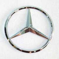 "M-Benz Trunk Chrome Star Emblem Badge Logo 3.5"" 90mm 2128170016"