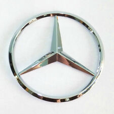 "Mercedes-Benz Trunk Chrome Star Emblem Badge Logo 3.5"" 90mm 2128170016"