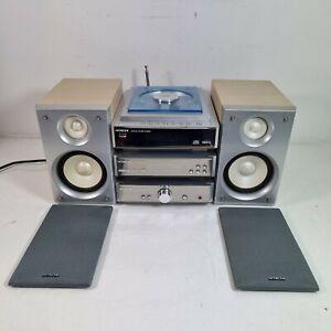 Hitachi AX-M130 Mini Hi-Fi System DAB/CD/Amplifier & Speakers, no remote