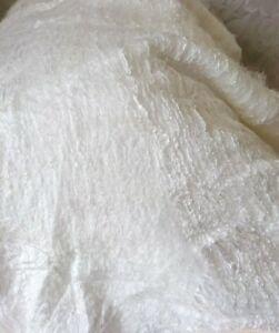 Silk Laps Batt Mulberry100%, Silk for felting, natural silk, 3,5oz / 100g