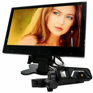 9 inches touch button dash / embedded monitor headrest monitor from Japan