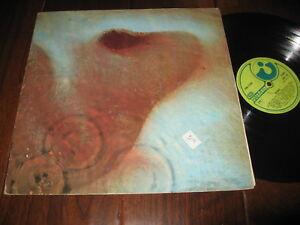 Pink Floyd Record lp Meddle UK Import Original Harvest psych rock VG