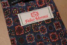 Vintage italienische Krawatte 100% Seide-Made in Italy von Fabio Moretti
