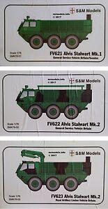 S&M Models 1/76 Alvis Stalwart New Plastic Model Kit SM Models S & M Models 1 76