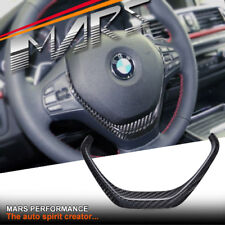 Carbon Fibre Steering Wheel Cover for BMW 3 Series F30 F31 F34 4 Series F32 F33
