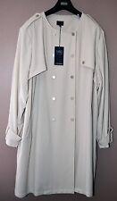 Ladies Collection Jacket-Taglia più 26 Crema/Naturale-Nuovo con Etichetta