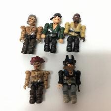 5x Halo Mega Bloks Battle Pirates of the Caribbean action figure rare toy EA151