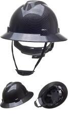 Full Brim Hard Hat Safety Helmet 6 Point Ratcheting System Meets