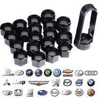 2019 New 20 Pcs Black Wheel Nut Caps Bolt Covers For Car Locking 17mm